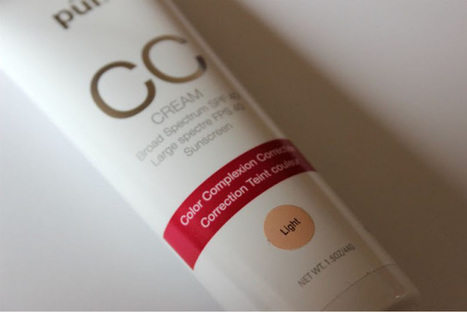 Pur Minerals CC Cream Review - The Sunday Girl | CC-Cream | Scoop.it