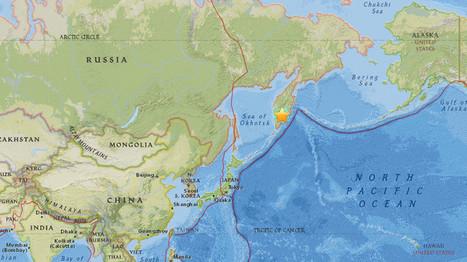 Un séisme de magnitude 7,0 frappe l'Extrême-Orient de la Russie   Sciences de la Terre.   Scoop.it