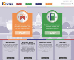 iCivics Games Show Students How Goverment Works | Edtech PK-12 | Scoop.it