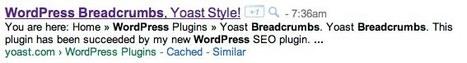 WordPress Breadcrumbs, Yoast Style, get them Now! | WordPress by Dotty | Scoop.it