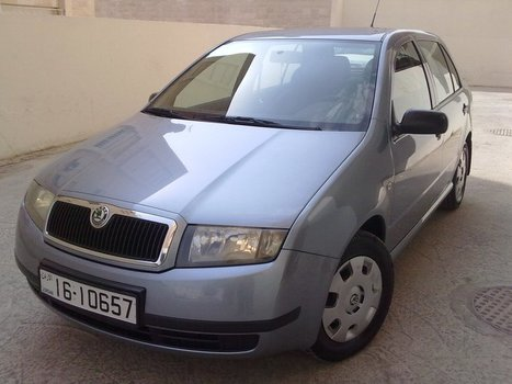 Skoda Fabia 2005 Automatic 1.4L For Sale in Jordan - 6.800 JOD | Cars For Sale In Jordan | Scoop.it