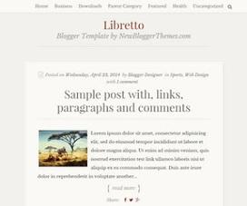 Libretto | Blogger themes | Scoop.it