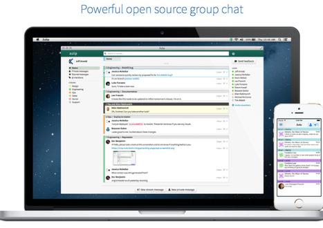 Slack-Alternative: Dropbox macht Zulip zu Open-Source-Projekt | heise online | freebies | Scoop.it