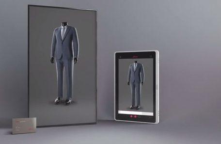 Brioni équipe ses boutiques de miroirs virtuels   L'innovation dans la filière cuir   Scoop.it