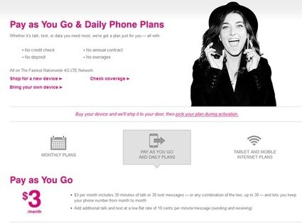 New T-Mobile Pay as You Go LTE Pricing Changes Everything | Mobile Telecom Innovations | Scoop.it