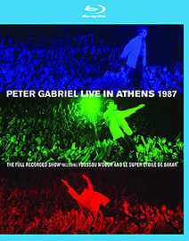 "Genesis News Com [it] / Peter Gabriel / Peter Gabriel: ""Live In Athens 1987"" on Blu-ray 