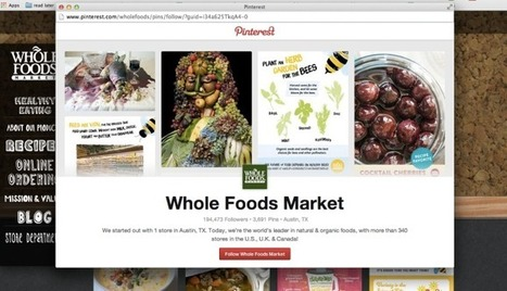 Pinterest Steps Outside Its Walled Garden With New Animated Follow Button For Brands | TechCrunch | Social Media Tools and new Technology | Scoop.it