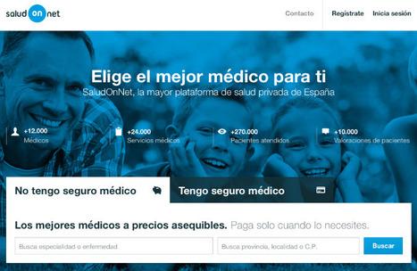 SaludOnNet lanza el mayor market place de salud privada de España | Blog de SaludOnNet | eSalud Social Media | Scoop.it
