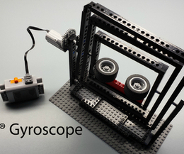 LEGO Gyroscope (Documented in GIF Form) | Open Source Hardware News | Scoop.it