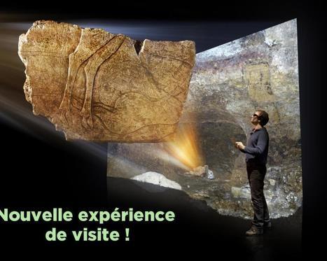 Le site préhistorique de la Laugerie Basse se dévoile virtuellement avec son nouveau guide de visite sur tablette | L'actu culturelle | Scoop.it
