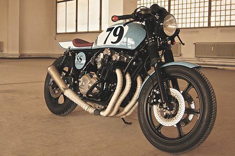 '79 Honda CB900F Bol d'Or – Andreas Goldemann   Smotra-moto.ru   Scoop.it
