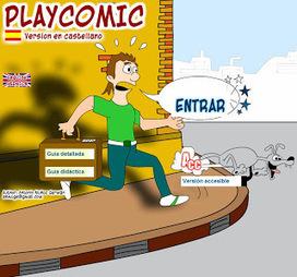 PLAYCOMIC: Software de diseño de #comic para desarrollar la expresión escrita | Educacion, ecologia y TIC | Scoop.it