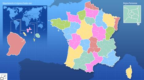 Jeu des régions de France - CartesFrance.fr   liberté éducative ou pas?   Scoop.it