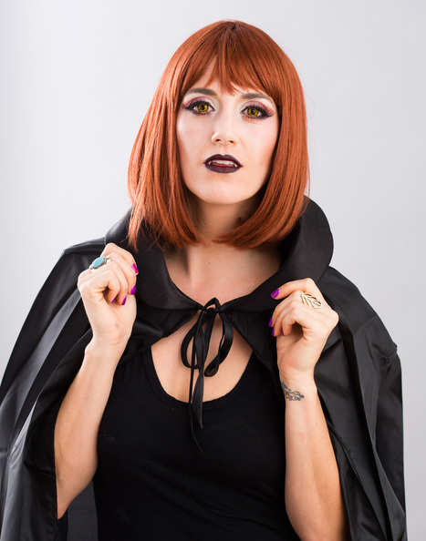 Modele Maquillage Halloween : Un Tutoriel Vampire De Beauté Moderne | Maquillage | Scoop.it