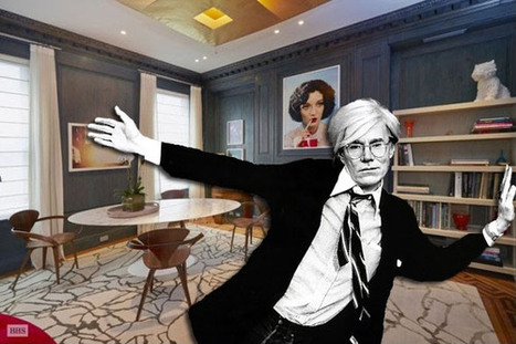 Pop Artist Andy Warhol's Iconic Manhattan Townhouse Listed For $5.99M -- Take A Peek Inside   Pop Art - Movimento Artístico   Scoop.it