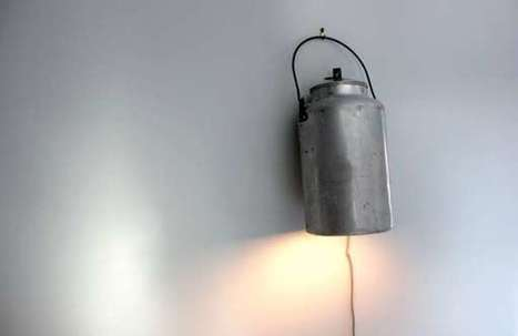 Repurposed Kettle Reading Lamps | Recycling Design | Scoop.it