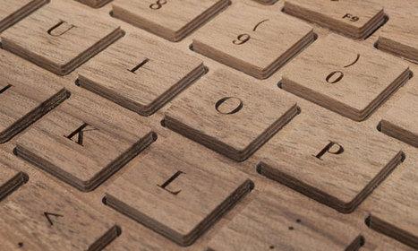 Et si vous échangiez votre clavier en plastique pour un clavier entièrement fait en bois ? | Remembering tomorrow | Scoop.it