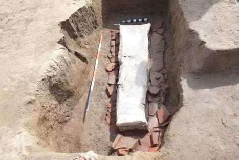 Rinvenuto un sarcofago in piombo d'età romana: trovato grazie ai lavori per l'accesso al San Luca | LVDVS CHIRONIS 3.0 | Scoop.it