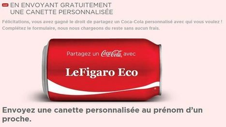 Coca prolonge ses bouteilles personnalisées en France | Online communication & marketing | Scoop.it