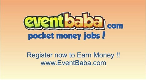 EventBaba – pocket money with fun | Business | Scoop.it