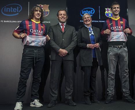 Intel véritablement inside sous les maillots du Barça | Marketing Sportif | Scoop.it