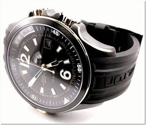 Hamilton Khaki Navy GMT Mechanical Watch for Men - Recommend | Deals News Share | Scoop.it