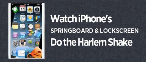 Harlem Shake on iPhone SpringBoard and Lock Screen [Cydia Tweaks] | Amazing Cydia Resources | Scoop.it