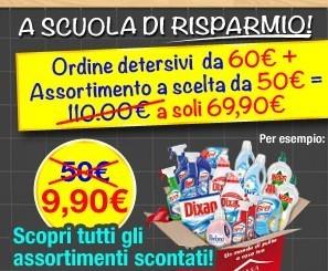 Con un ordine un assortimento di detersivi a meno di 10 euro | Scooop | Scoop.it