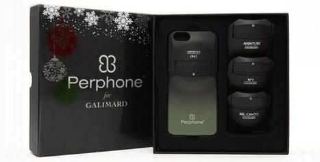 Perphone : la coque de téléphone qui vous parfume   Flaconnage   Scoop.it