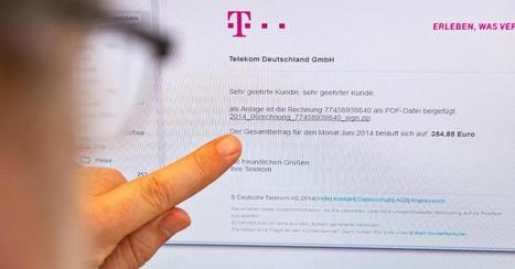 Wenn ihr Mails von Apple und der Telekom bekommen, solltet ihr besonders aufpassen | Mac in der Schule | Scoop.it