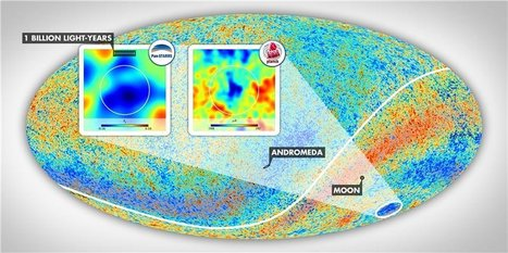 Cold Spot suggests largest structure in the observable universe is a supervoid 1.3 billion light years across | Amazing Science | Scoop.it
