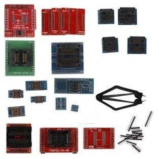 Full Set 21pcs Socket Adapters for Super Mini Pro TL866A EEPROM Programmer [EC033] - $103.99 : Online Shopping for OBD2,OBD2 Scanner,Car Diagnostic Tool from China. | OBD2 Scanner | Scoop.it