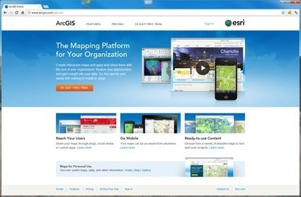 A Fresh New Look For ArcGIS Online, Organisations Are Now Live | Geoflorestas | Scoop.it