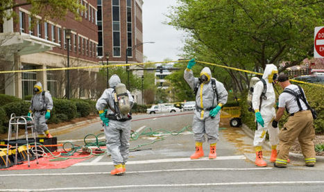 One taken to hospital after explosion in downtown Winston-Salem lab | Team Decon | Scoop.it