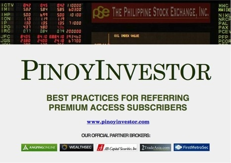 Earn money with PinoyInvestor's referral income program! | PinoyInvestor | Personal Finance and Investing in the Philippines | Scoop.it