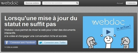 WebDoc. Un outil de curation complet et ludique. | Time to Learn | Scoop.it