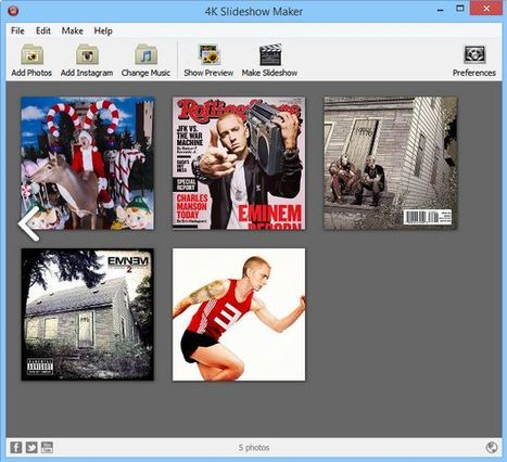 4K Slideshow Maker - Cool Slideshows for Free | Integrating Technology in Education | Scoop.it