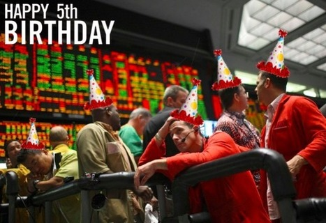 Happy 5th birthday, Dear Financial Crisis (Part I of II) - OfWealth | Gold and What Moves it. | Scoop.it