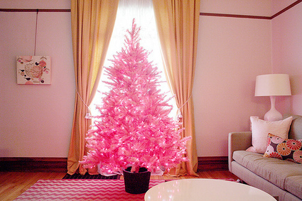 The Pink Christmas Tree is Here | Christmas Decorations | Scoop.it