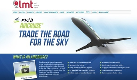 AirCruise tour anyone? | Tnooz | Travelled | Scoop.it