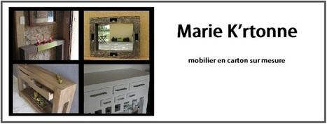 meubles en carton marie krtonne | meubles et objets en carton | Scoop.it