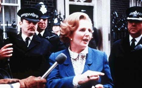 How Margaret Thatcher made the headlines - video graphic - Telegraph | Electoral campaign and Internet | Scoop.it