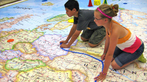National Geographic Events - Giant Traveling Maps | Educational Technology in the Library | Scoop.it