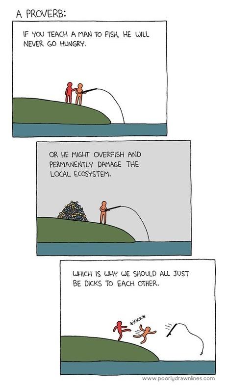 Enseña a un hombre a pescar... y dañará el ecosistema | Noticias, Recursos y Contenidos sobre Aprendizaje | Scoop.it