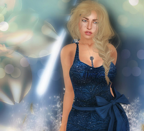 The gown for a magic night / La robe pour une nuit magique | 亗 Second Life Freebies Addiction & More 亗 | Scoop.it