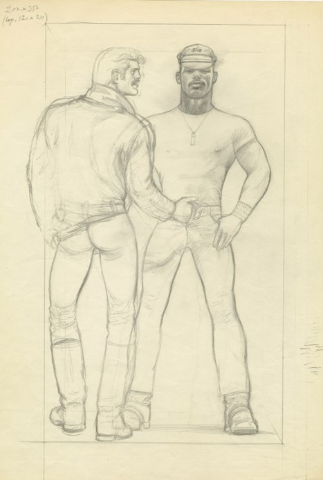 Tom of Finland at Modern Art (Contemporary Art Daily) | Meanwhile up North | Scoop.it
