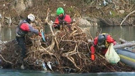 Inondations dans les Pyrénées : nettoyage des berges du gave de Pau | Vallée d'Aure - Pyrénées | Scoop.it