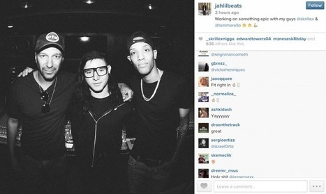 Skrillex, Jahlil Beats and Rage Against The Machine's Tom Morello are collaborating on new music | DJing | Scoop.it