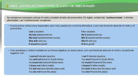 Contracciones en inglés | Languageway | Escuela Virtual de Idiomas | Aprendiendo Idiomas | Scoop.it