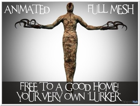 Animated Lurker by LOVE | Teleport Hub - Second Life Freebies | Second Life Freebies | Scoop.it